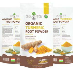 best turmeric brand organic wise