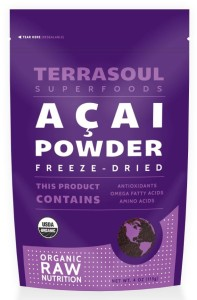 terrasoul acai powder