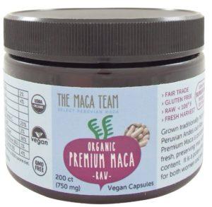 the maca team premium capsules