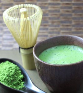 matcha tea bowl and whisk