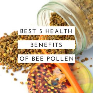 Health benefits of bee pollen