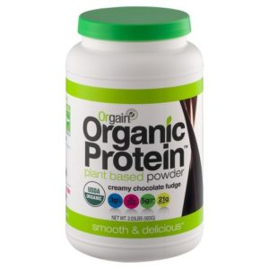 orgain chocolate hemp protein powder