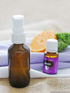 essential oil sunburn spray