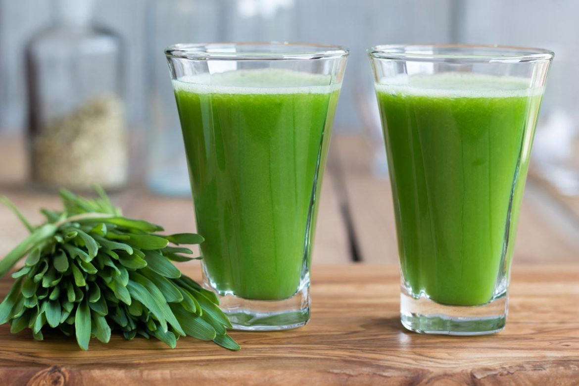 Wheatgrass-Shots